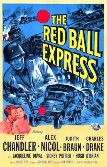 movie poster Red Ball Express