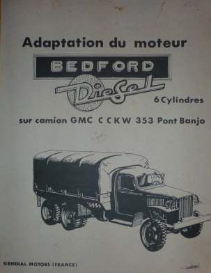 GMC ad with Bedford diesel