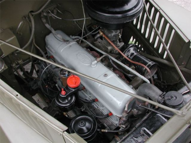 GMC engine photo