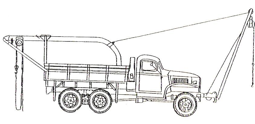 GMC drawing of Set No 7 352